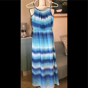 🚼Amy's Closet maxi dress with lining. Size 12